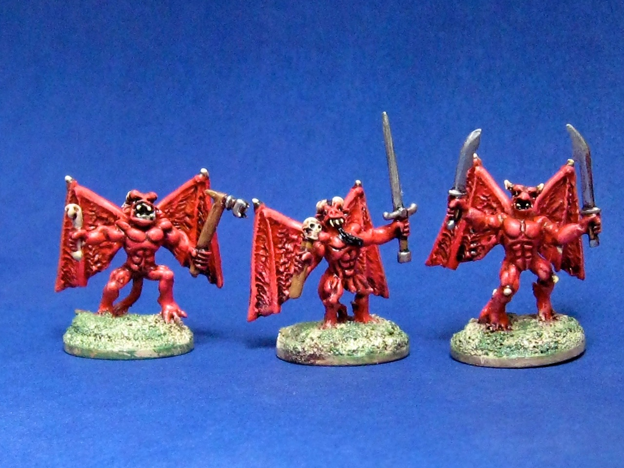 Blood Dawn 15mm demons