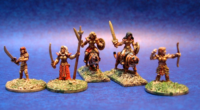 15mm Amazon Warriors from Armies of Arcana