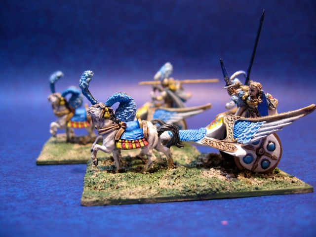 15mm High Elf Chariots from Ral Partha