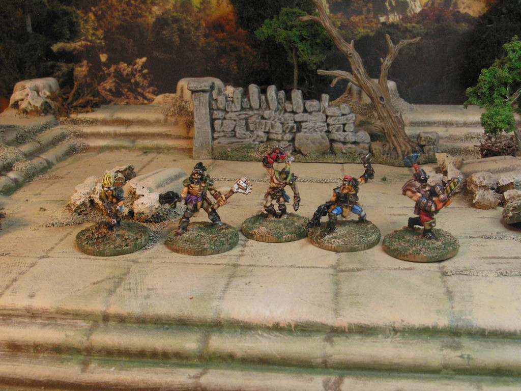 Khurasan Miniatures Post Apocalyse Road Warriors