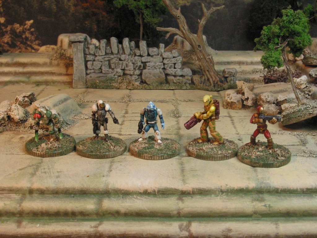 15mm Bounty Hunters from Critical Mass Games