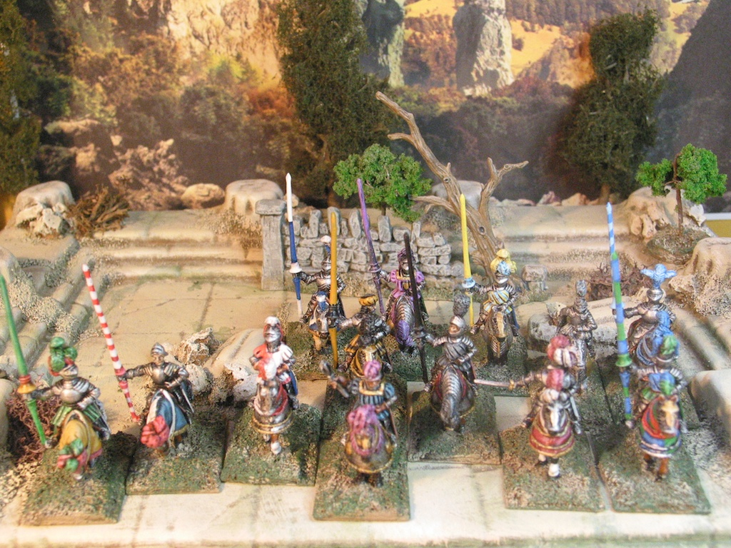 15mm Mounted Knights