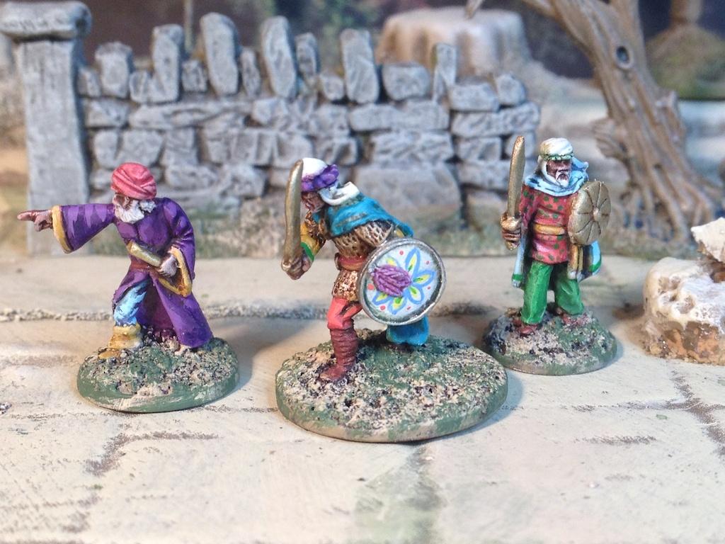 Arabs Splintered Light Miniatures fantasy Dungeon adventurers