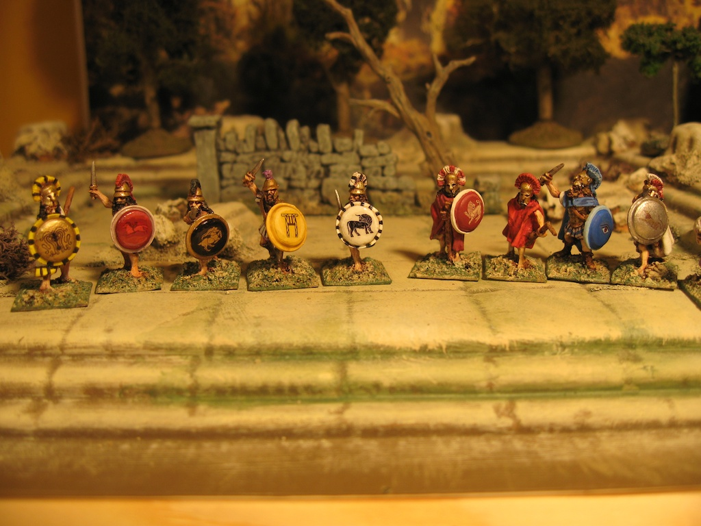 15mm Xyston Ancient Greeks for mythical adventures and skirmishing games