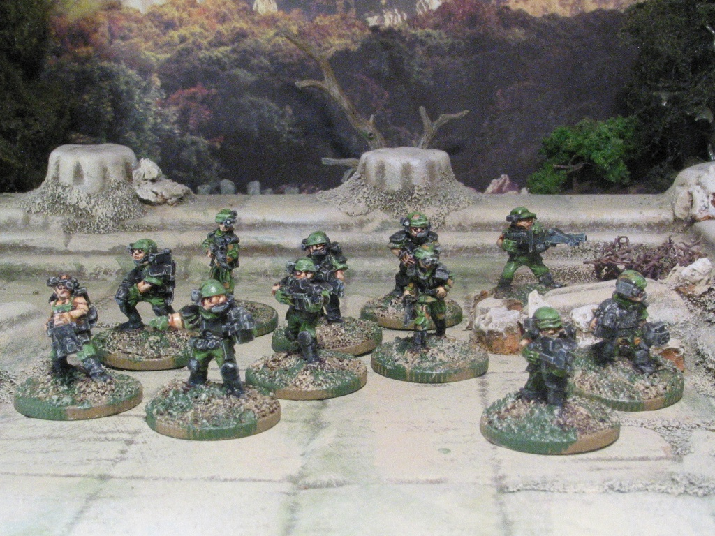 Khurasan Colonial Marines 15mm