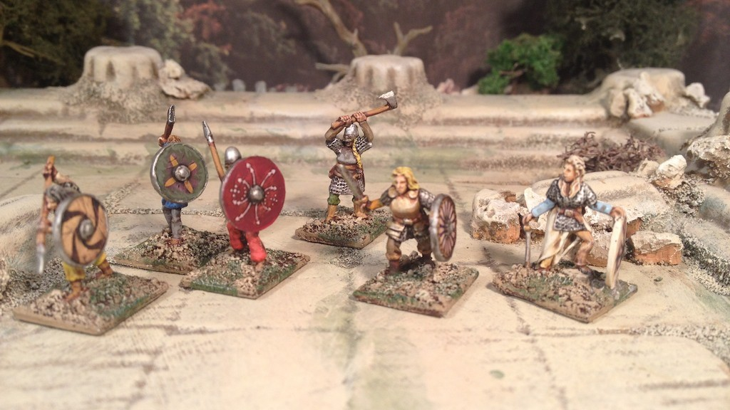 Splintered Light Miniatures 15mm Viking Shield Maidens
