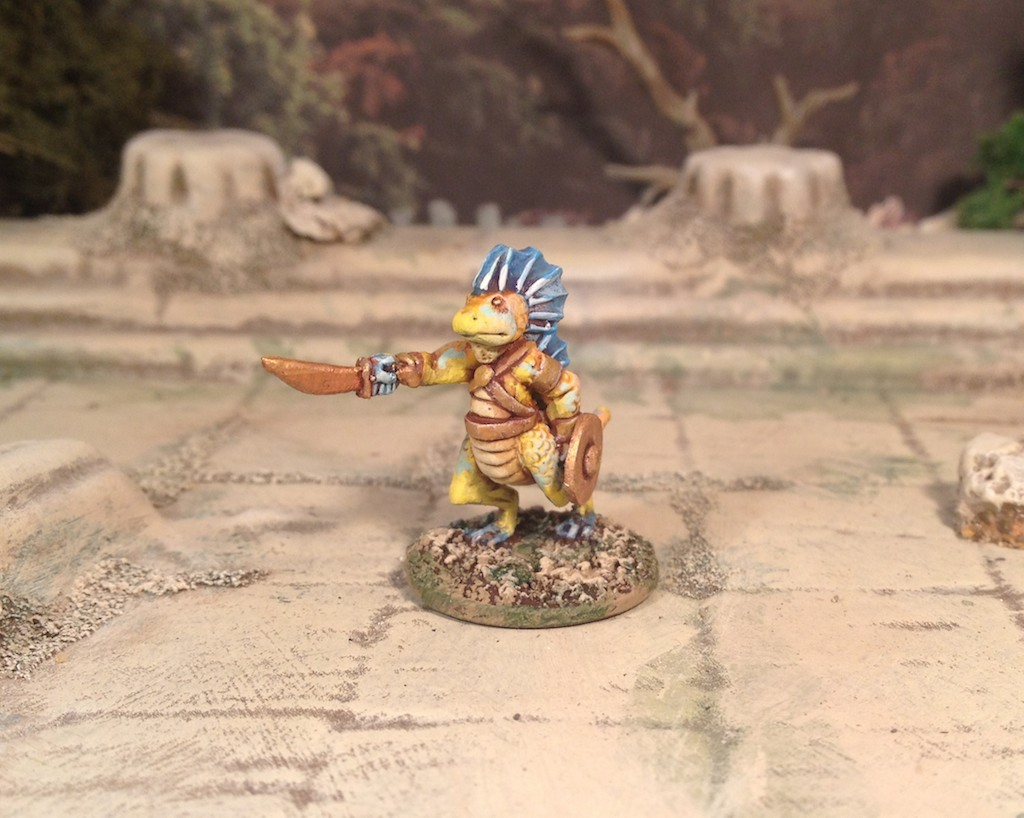 Splintered Light 15mm Reptilian Gladiator