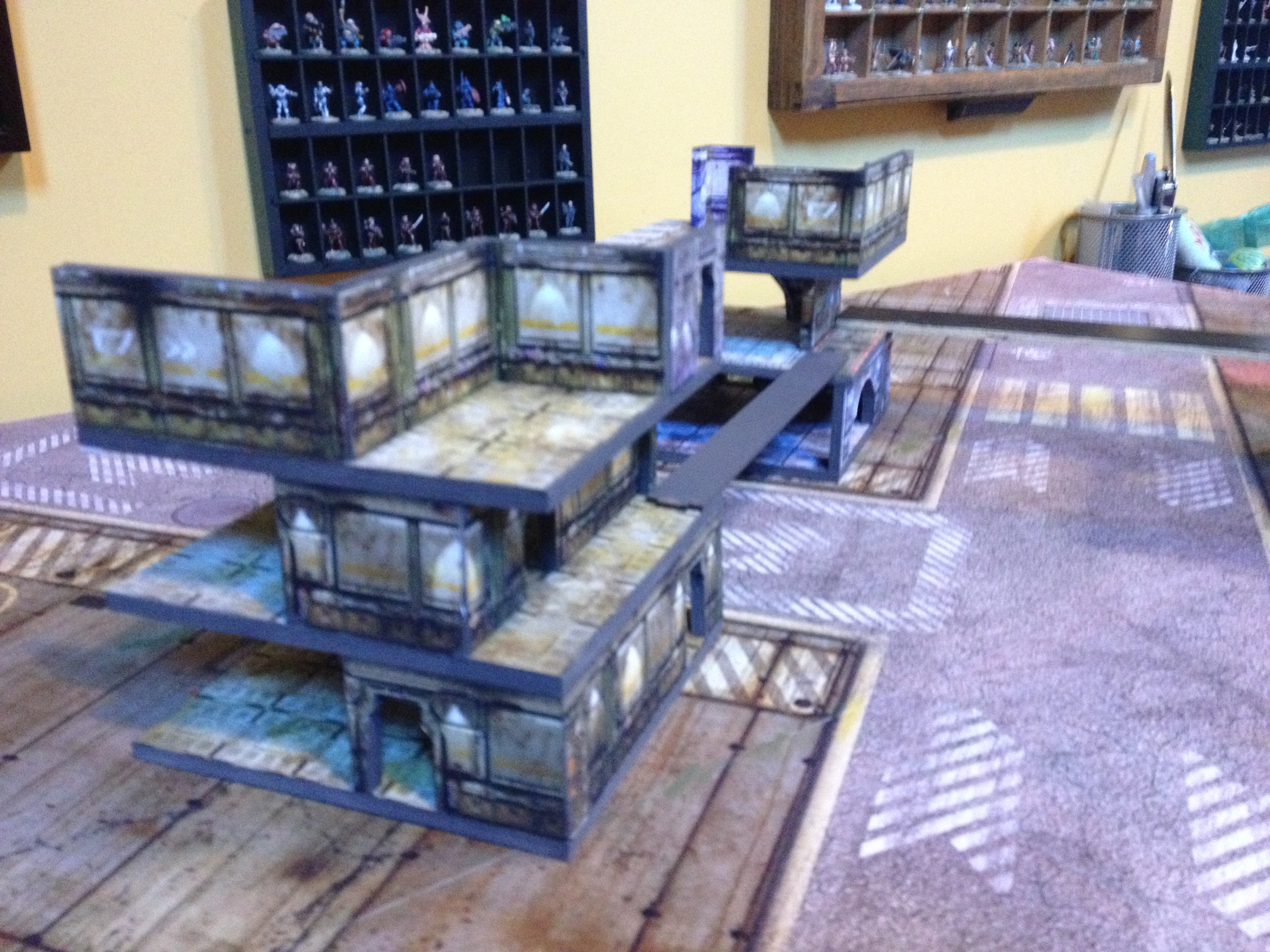 15mm star port sci fi terrain foamcore modular tiles