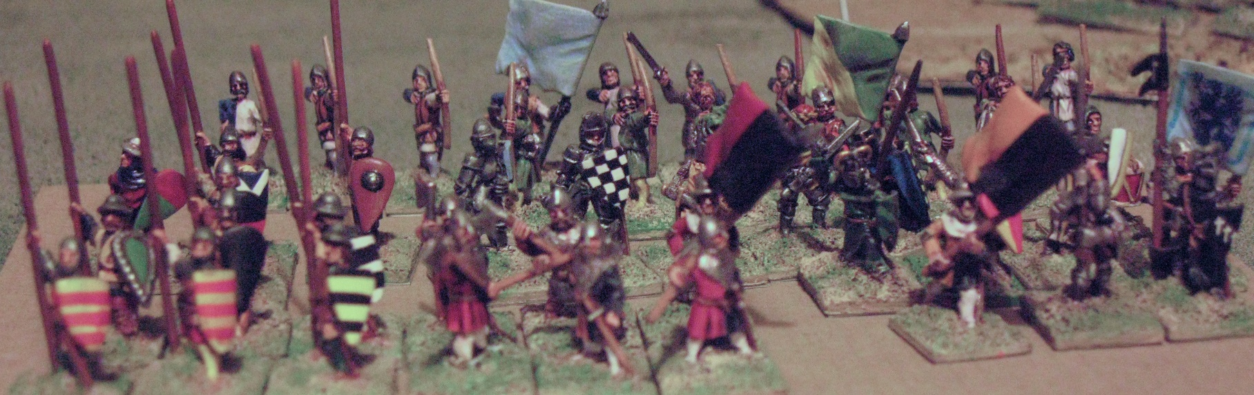 15mm Essex Infantry