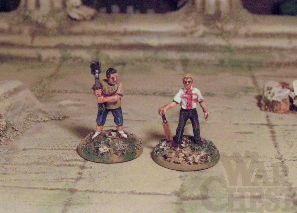 15mm Shaun of the Dead Simon Pegg and Nick Frost