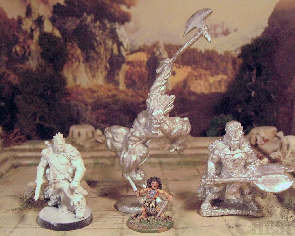 Slaine 2000AD Hasslefree Wargames Foundry 28mm