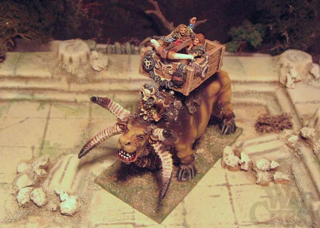 15mm Demonworld Thain Fantasy Gar'ydwedd with Ballista