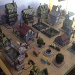 Fantasy Town City Wargames terrain print your own battle maps
