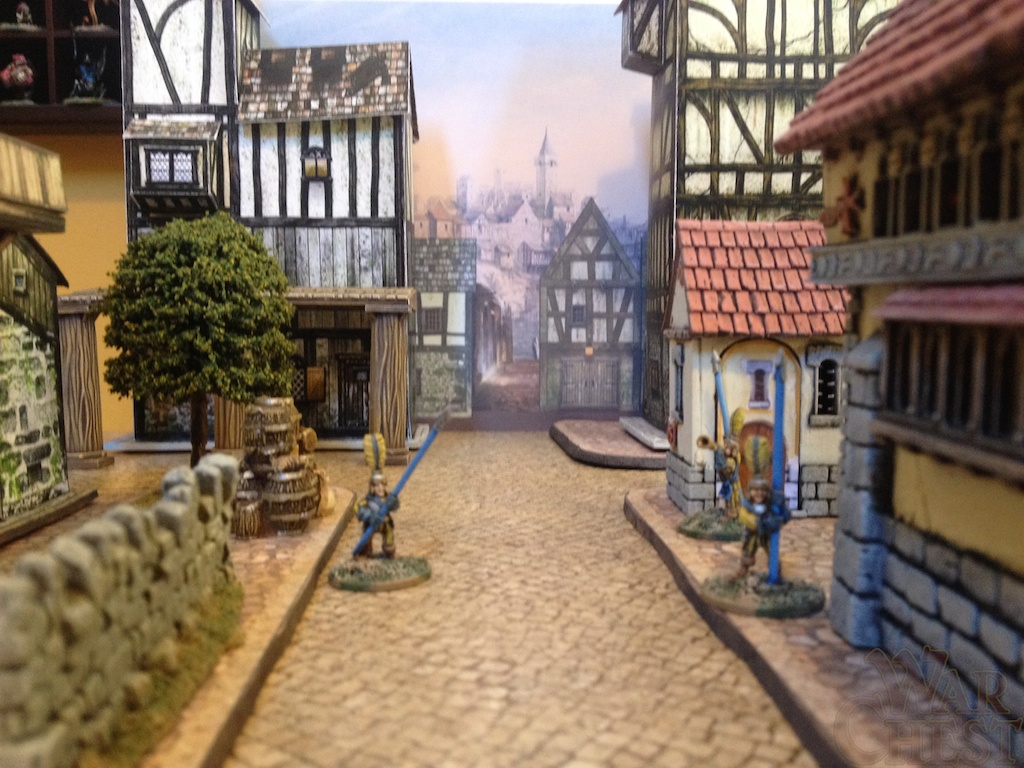 Fantasy Town City Wargames terrain print your own battle maps