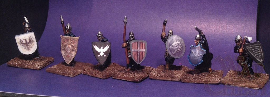 15mm Dark Ages Splintered Light Game of Thrones Night's Watch