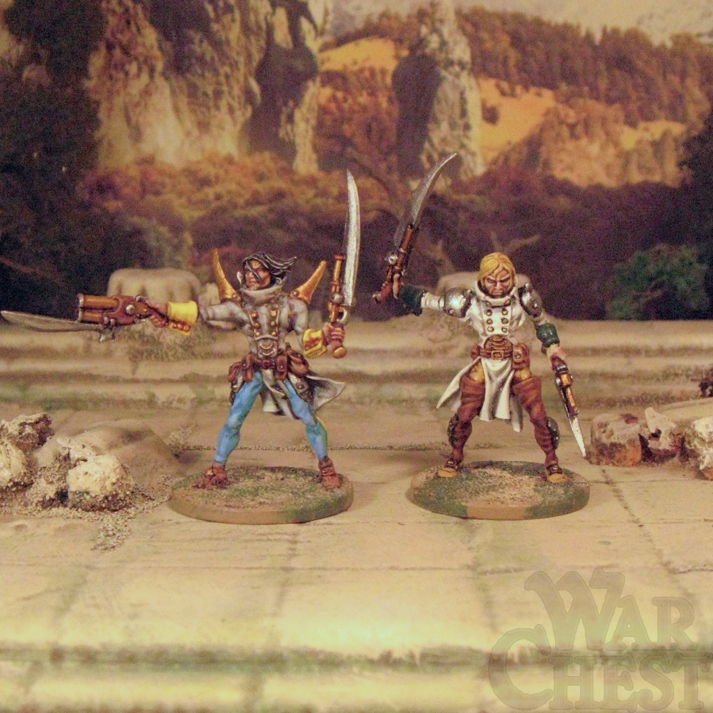 Racham Confrontation 28mm Fantasy Steampunk Frostgrave Warband Templars of Hod