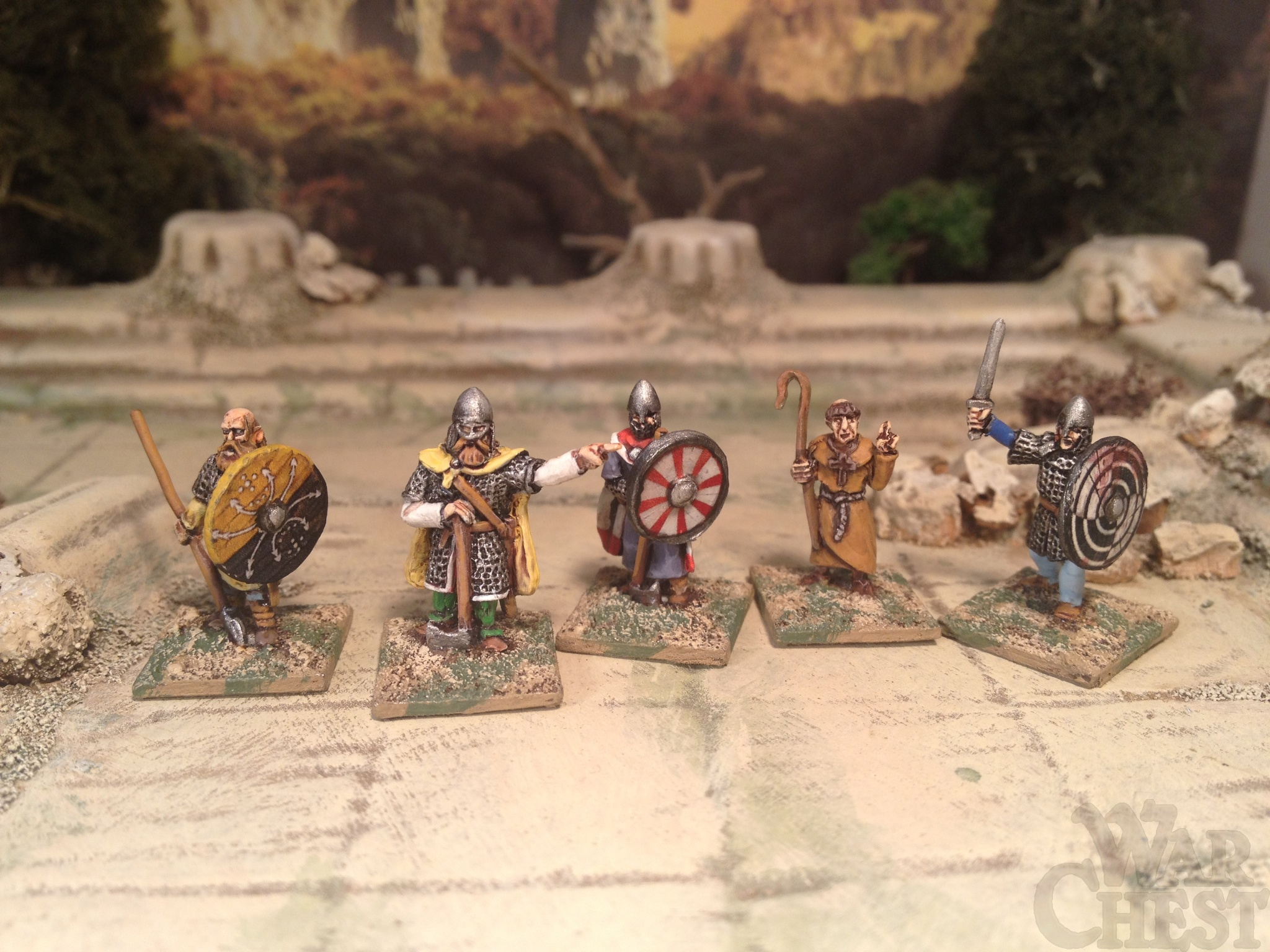15mm Splintered Light Dark Age Saxons