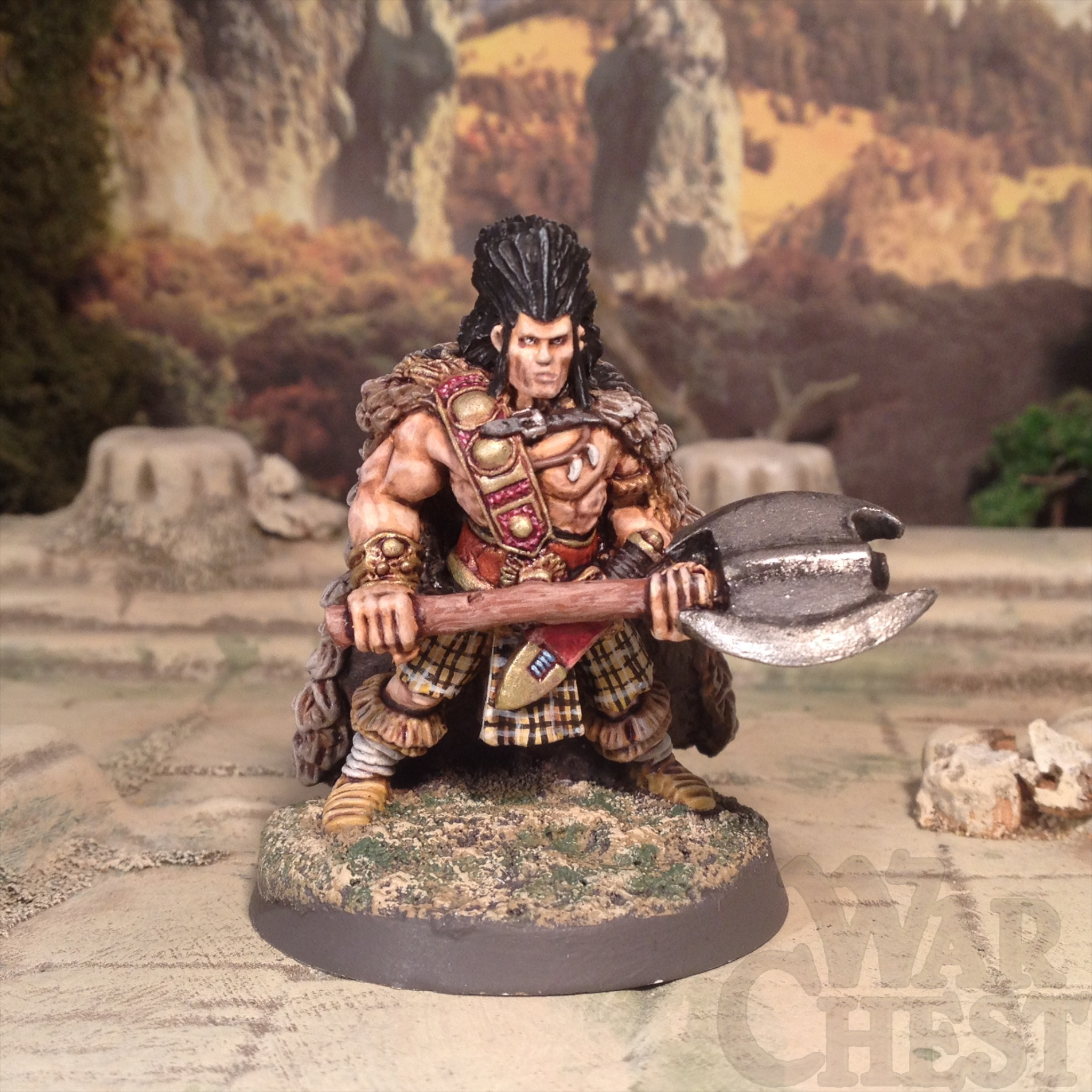 28mm Wargames Foundry Slaine Fantasy Barbarian