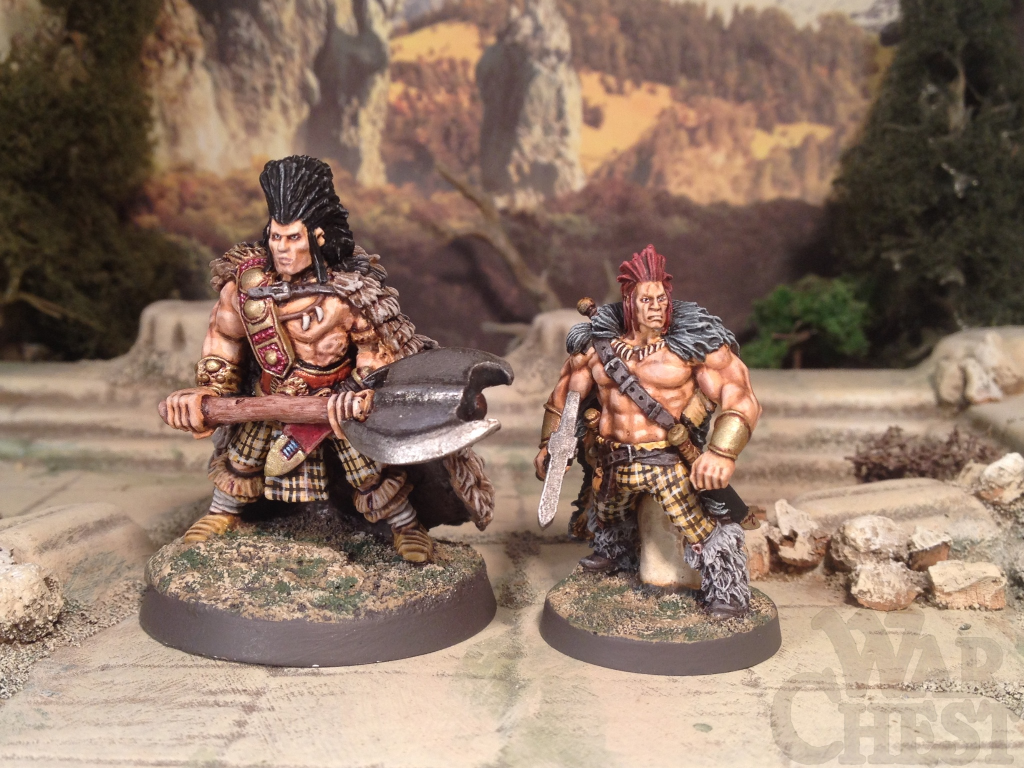28mm Wargames Foundry Slaine Fantasy Barbarian 28mm Hasslefree Miniatures Slaine Fantasy Barbarian