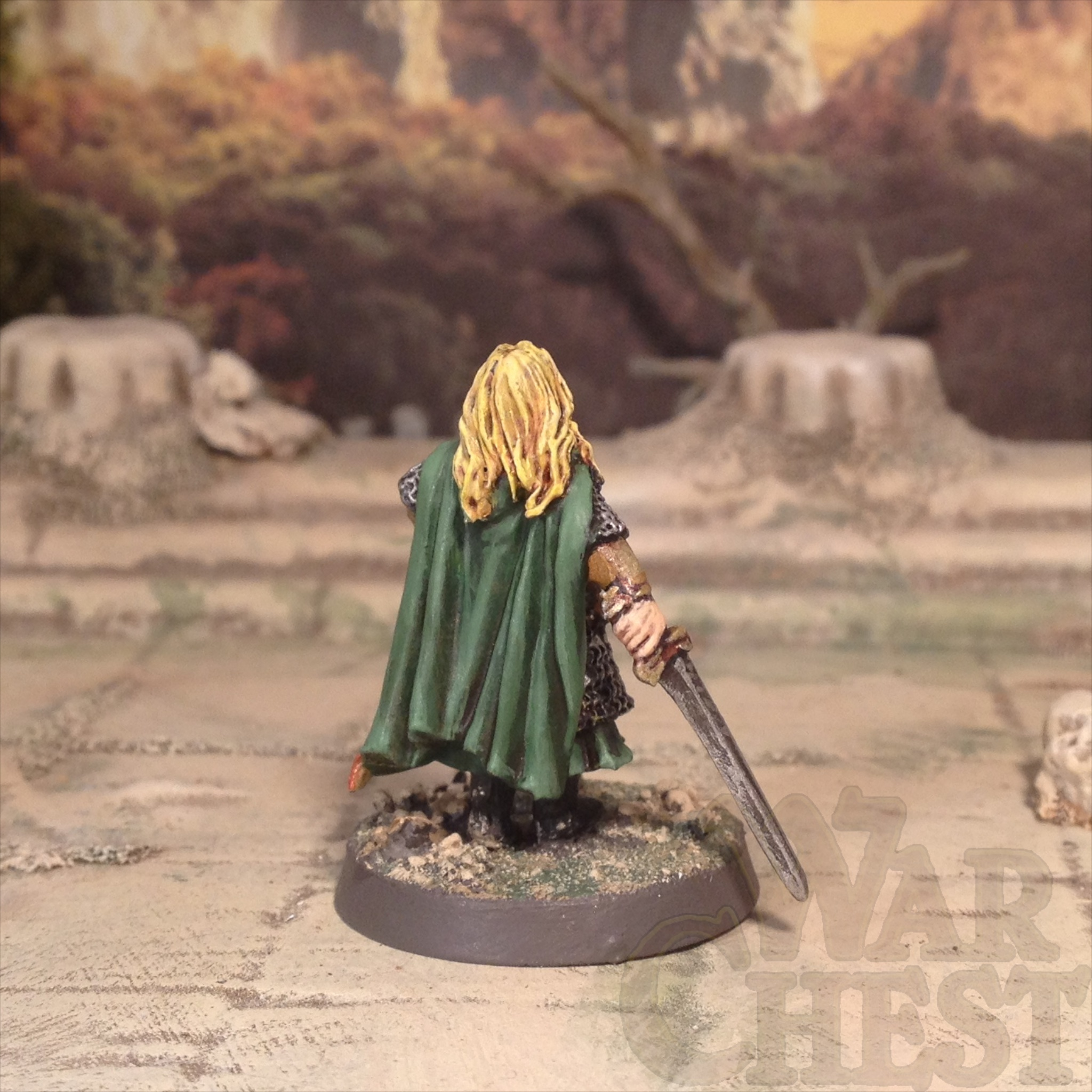 Eowyn Games Workshop's Lord of the Rings LOTR 25mm