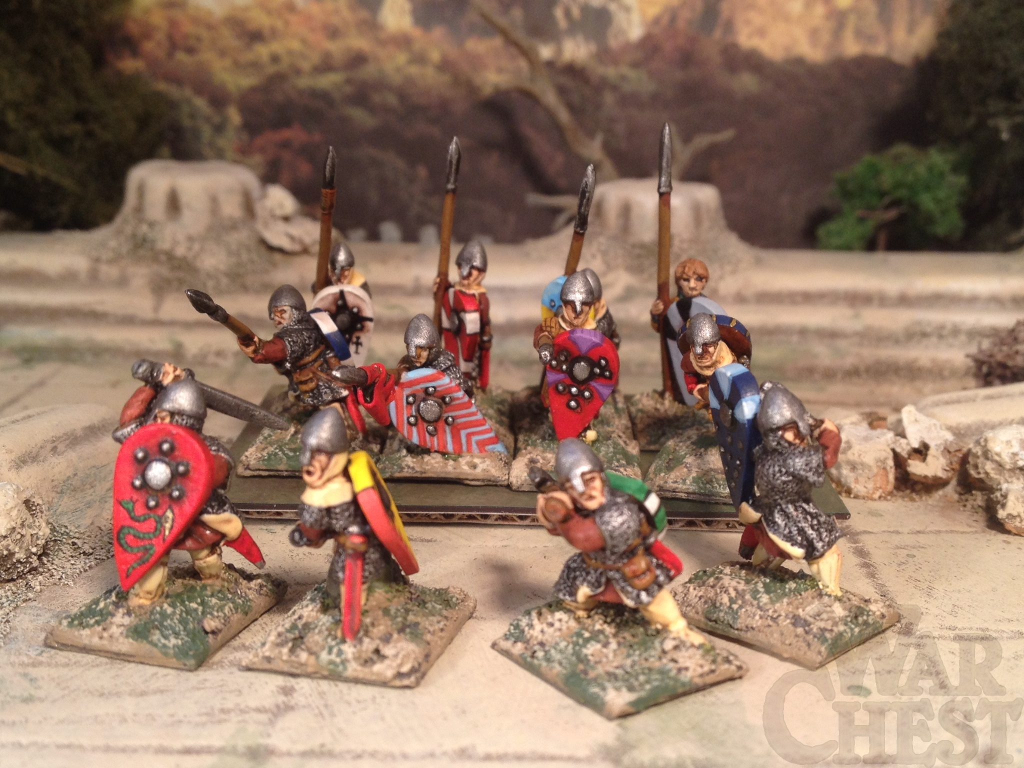 15mm Two Dragons Dark Age Normans
