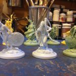 Mythological Gods Norse, Greek, Egyptian High Heavens Board Game 28mm miniatures