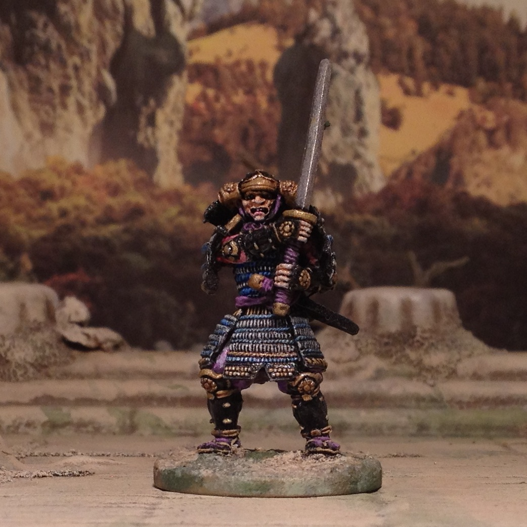 Clan Wars AEG Minitures 28mm Samurai Oriental Fantasy