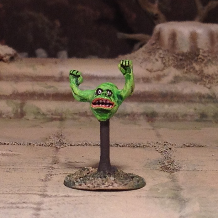 15mm Slimer miniature from Ghostbusters