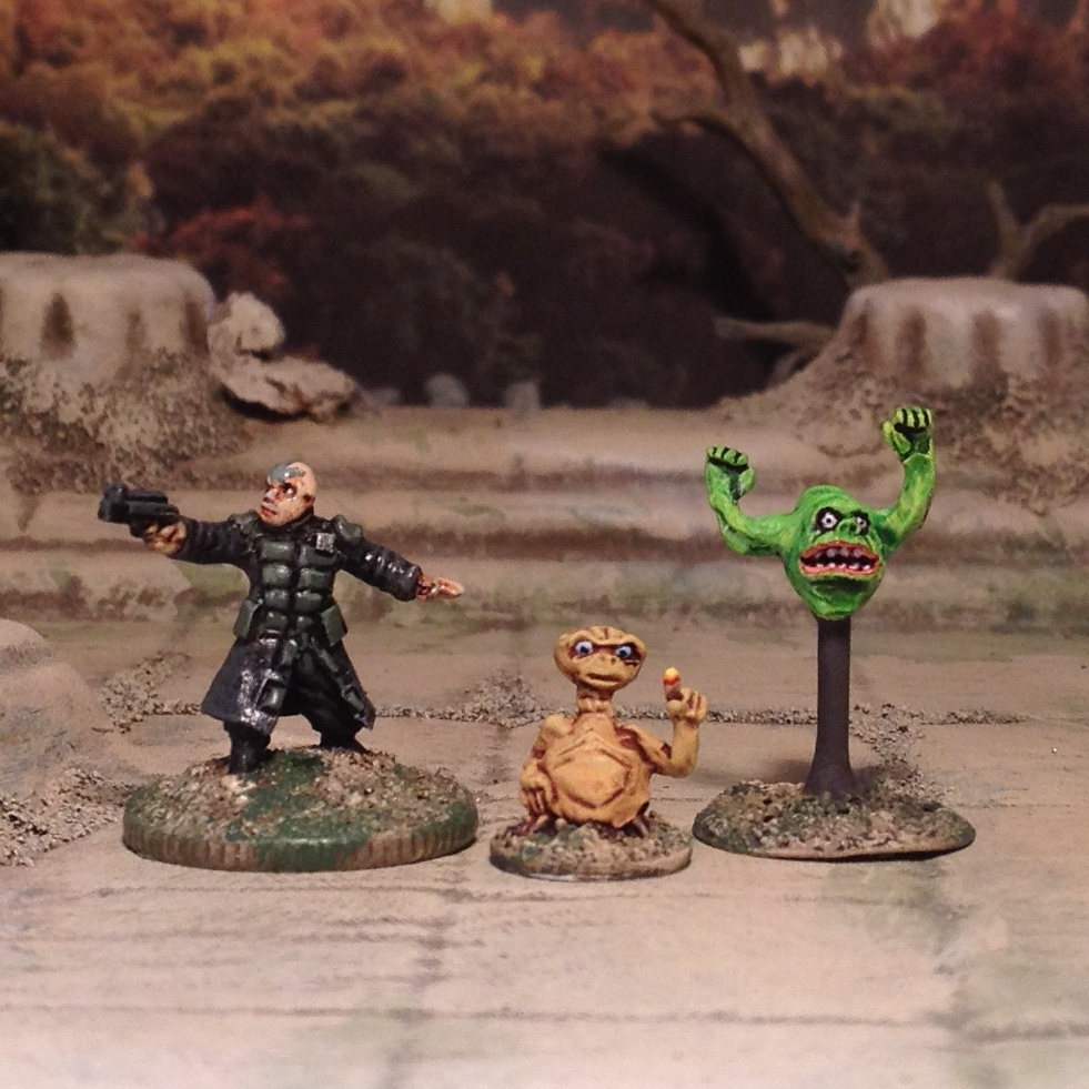 15mm Slimer miniature from Ghostbusters and ET