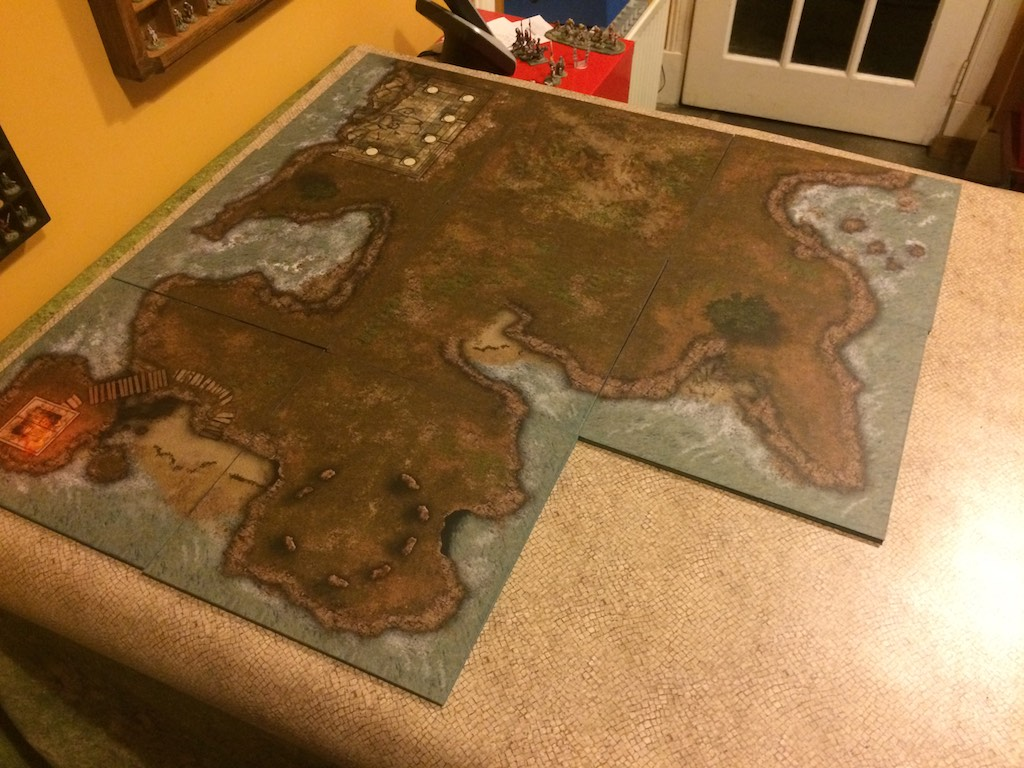 DIY Gaming Mats revisited – tiles and all  | Root around in