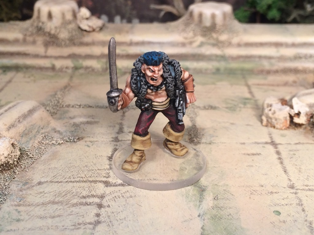 Games Workshop oldie Rogue Trader Pirate Captain