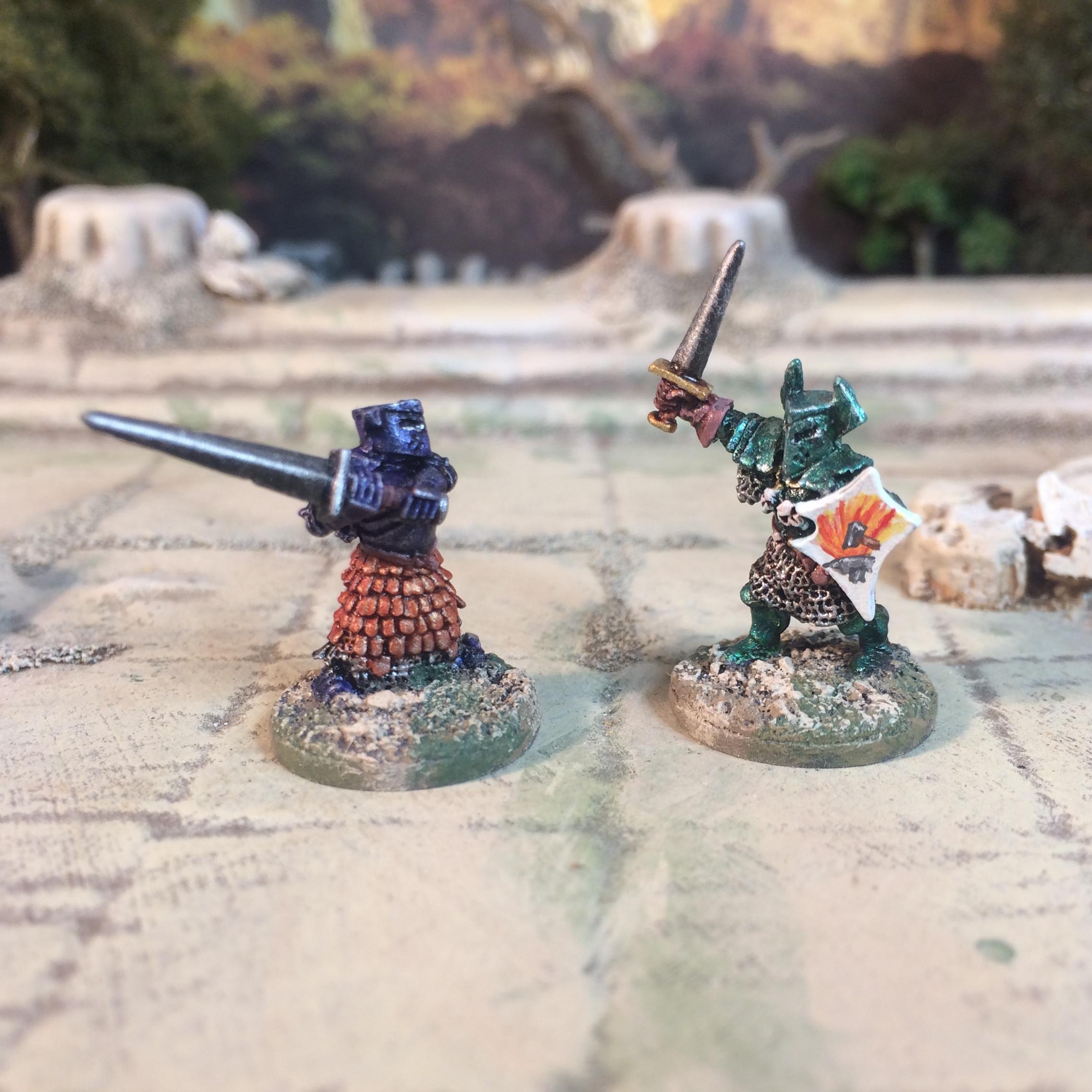 15mm 18mm Demonworld fantasy miniatures ral parth europe