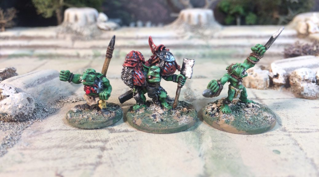 Demonworld 15mm Goblin