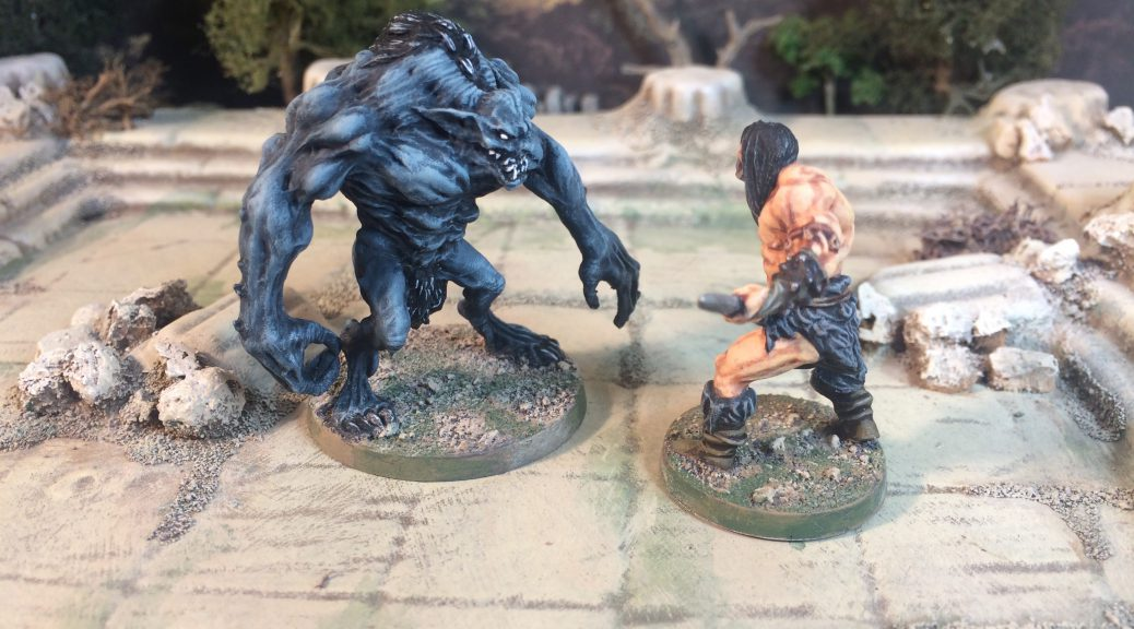 Dark Demon from Conan Board Game by Monolith