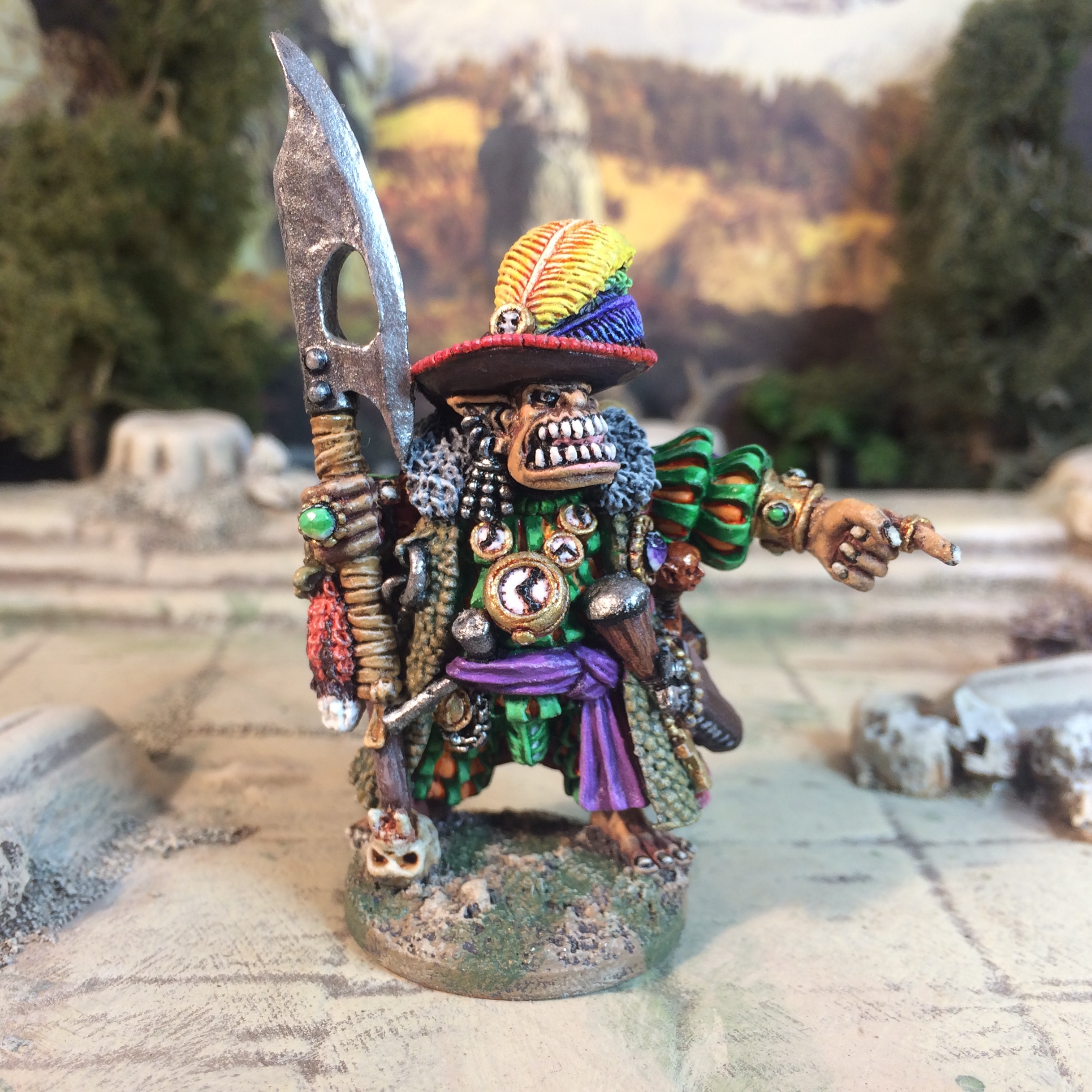 Warmonger Wargames Foundry great orc