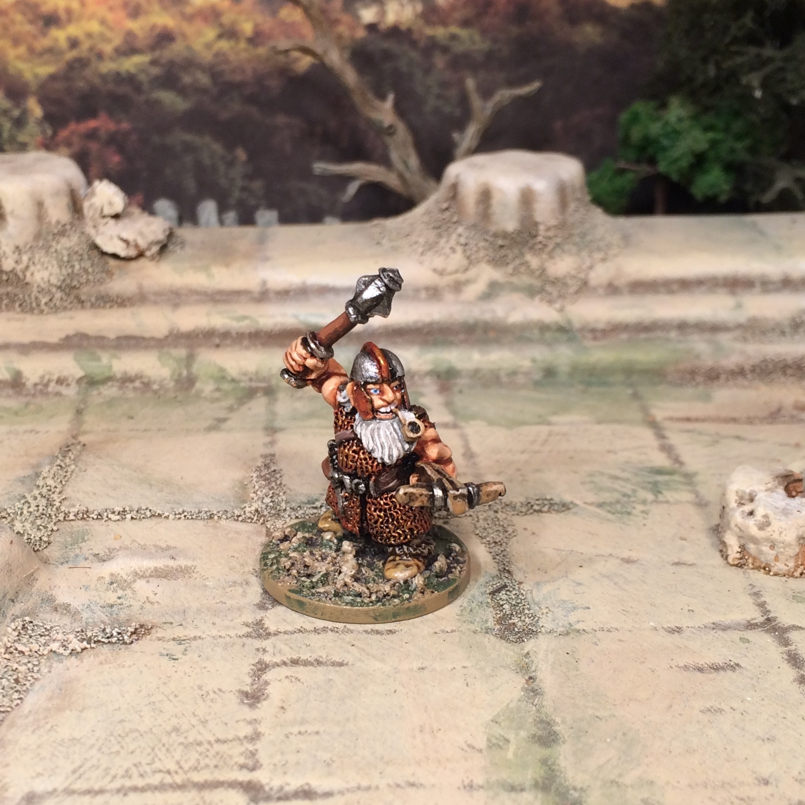 Old Hammer Games Workshop Citadel Dwarf