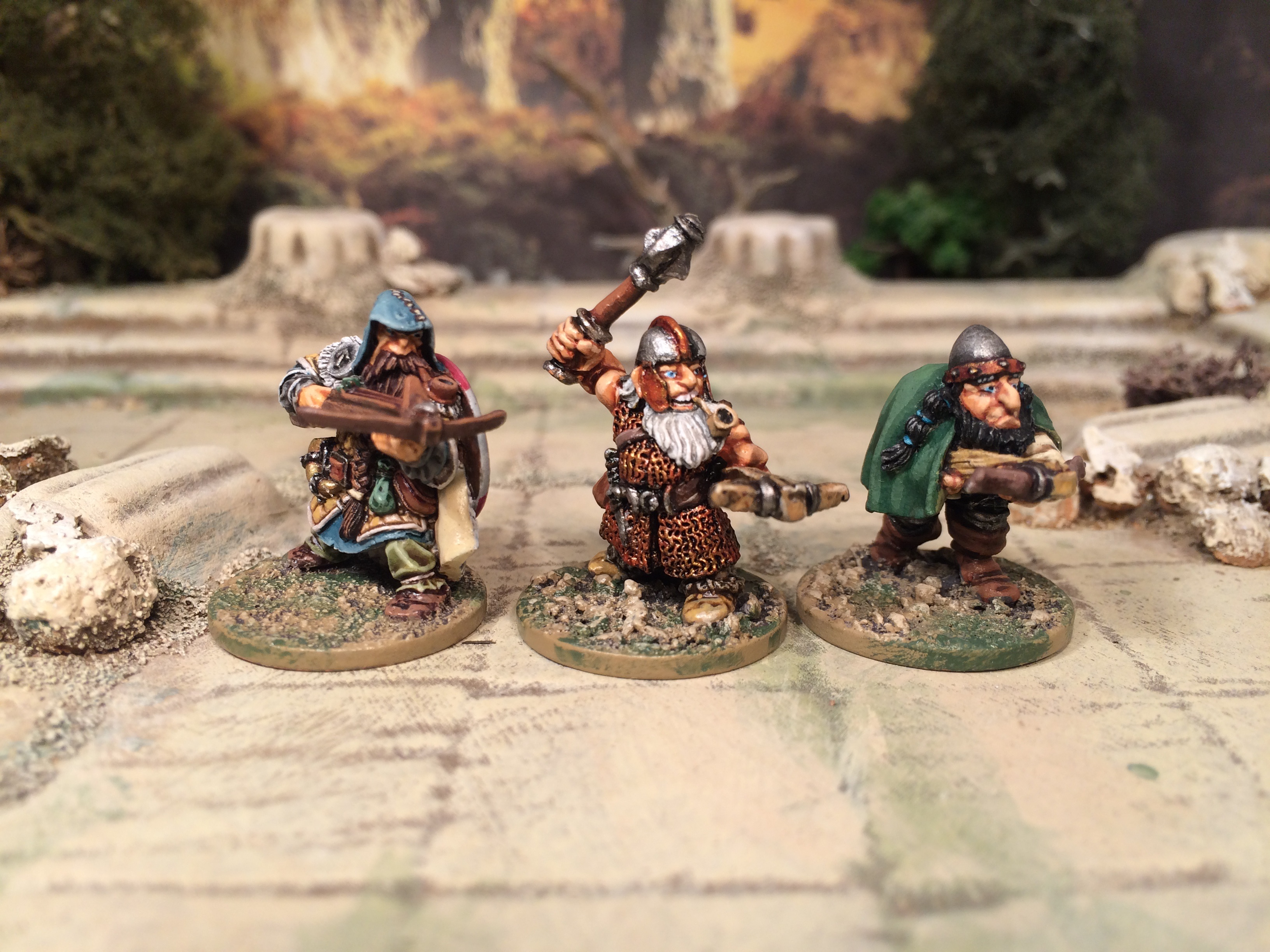 Old Hammer Games Workshop Citadel Dwarf Hasslefree Miniatures Dwarf with Crossbow