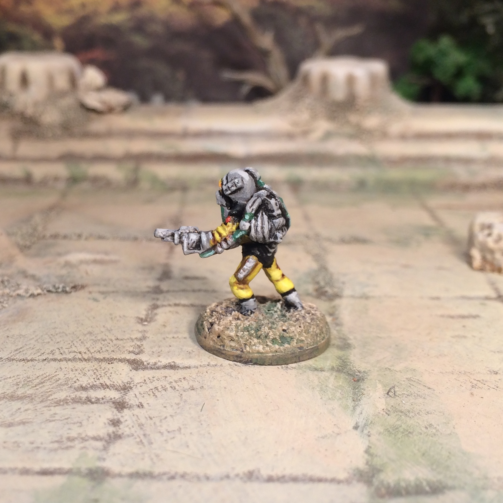 15mm Sci-Fi Traveller Miniature