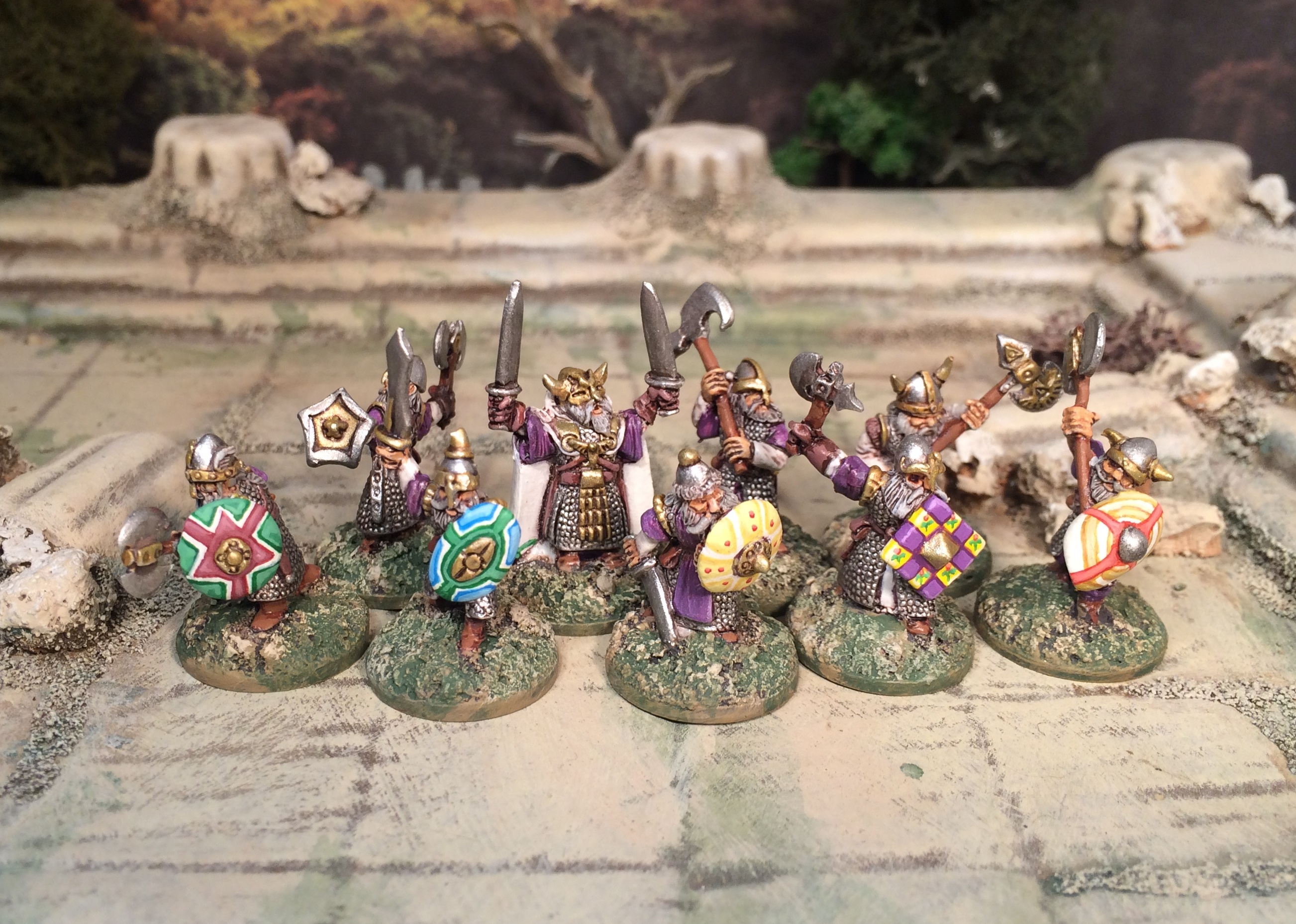 15mm dwarves from Black Raven