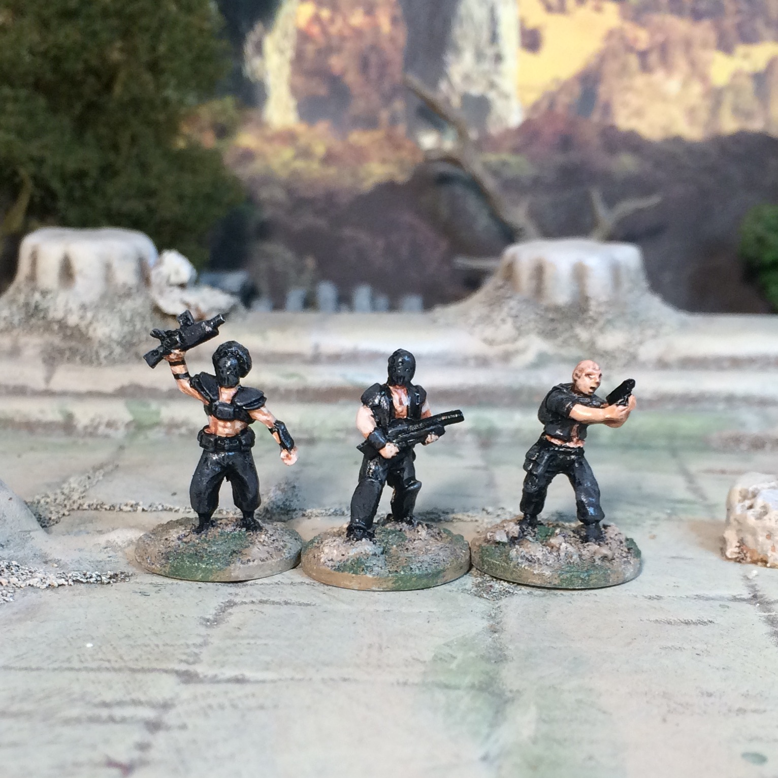 15mm Firefly Reavers Post Apocalypse Bad Guys