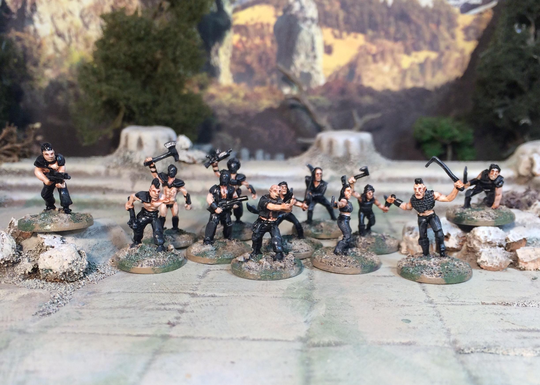 15mm Firefly Reavers Post Apocalypse Bad Guys