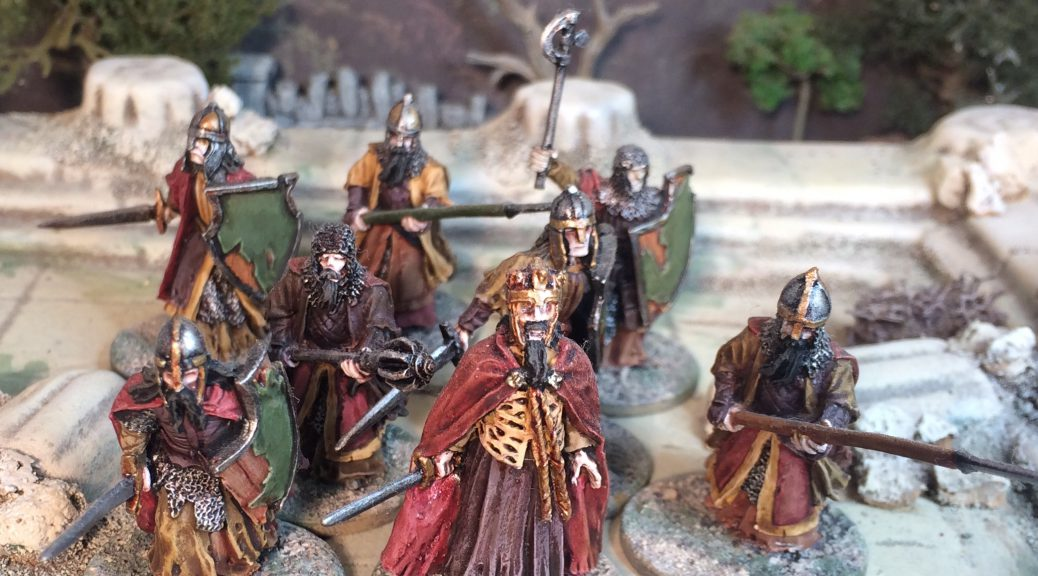 Men of Dunharrow Army of the Dead LotR Lord of the Rings Games Workshop
